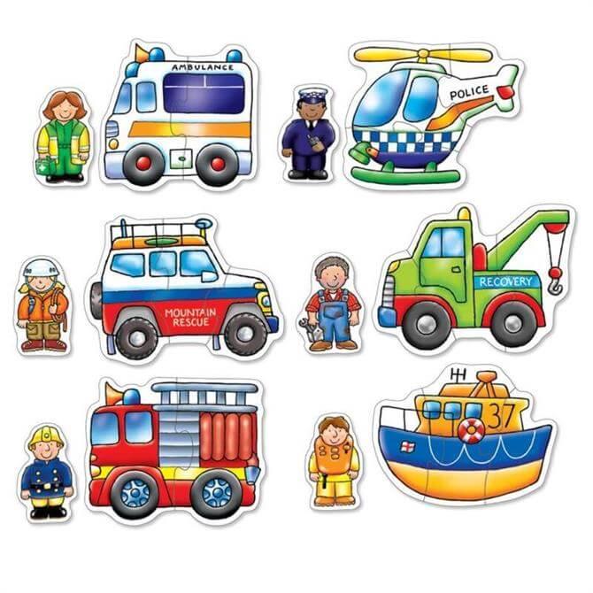 Orchard Rescue Squad Puzzles