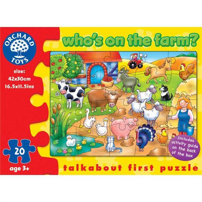 Orchard Toys Who's On The Farm?