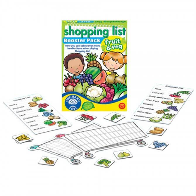 Orchard Toys Shop List Booster Pack Grocer