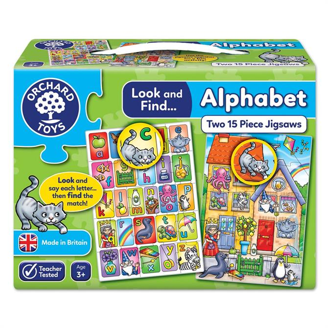 Orchard Toys Look And Find Alphapet