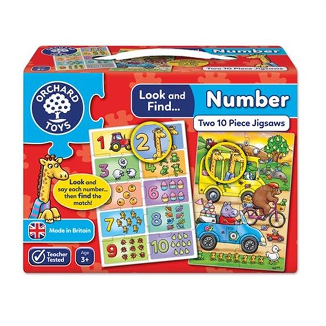 Orchard Toys Look And Find Number