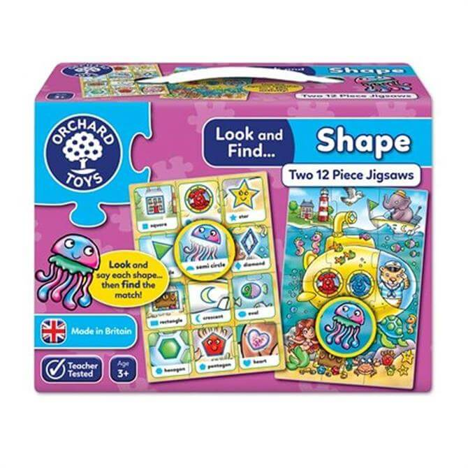 Orchard Toys Look And Find Shape