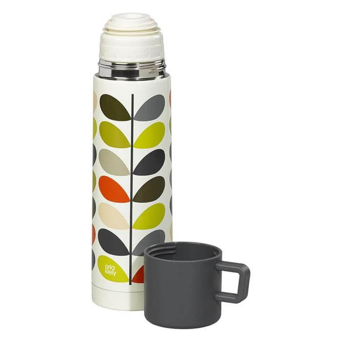 Orla Kiely Stainless Steel Flask: Multi Stem