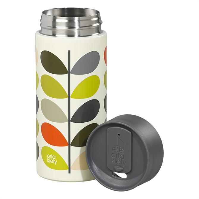 Orla Kiely Insulated Travel Mug: Multi Stem