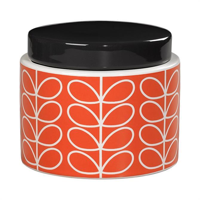 Orla Kiely Liner Stem Storage Jar: Small
