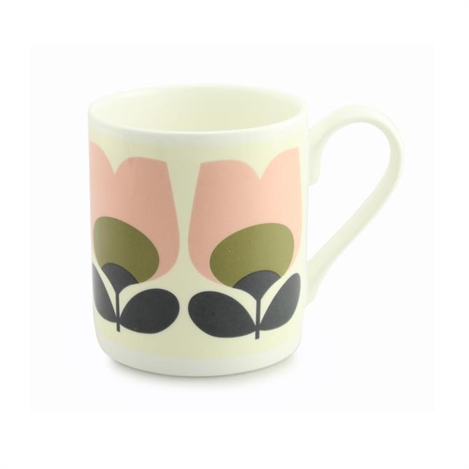 Orla Kiely Tulip Olive Mug