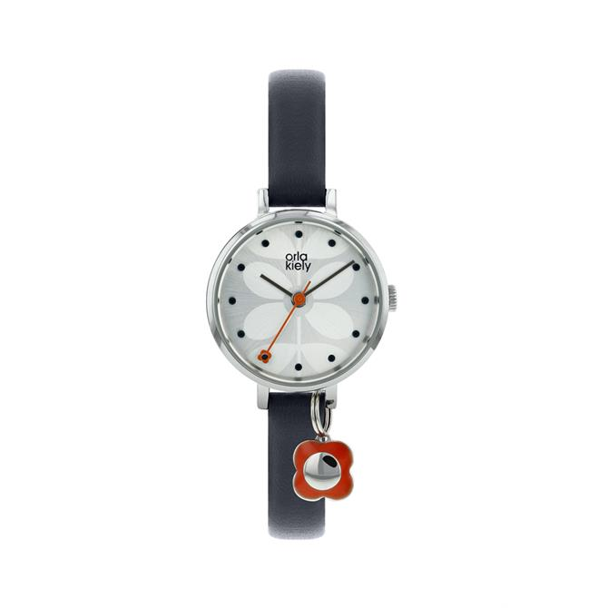 Orla Kiely Ivy Charm Navy Watch