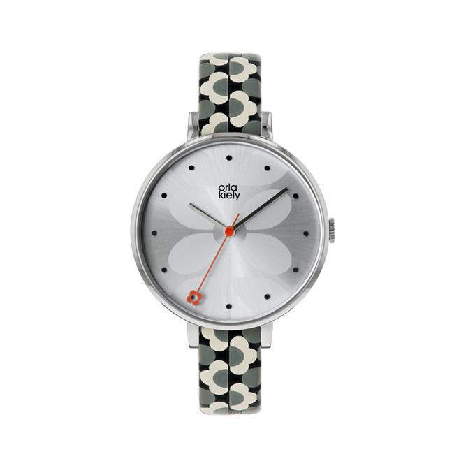 Orla Kiely Ivy Grey/Black Watch