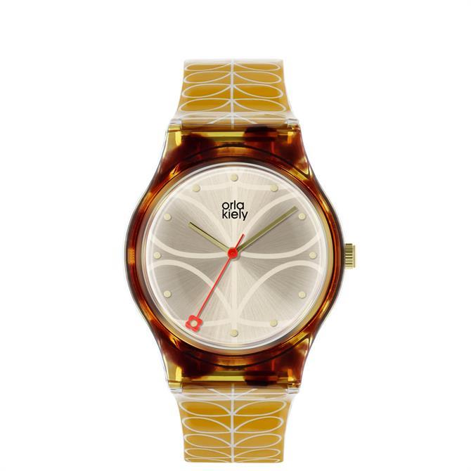 Orla Kiely Bobby Tortoiseshell Watch