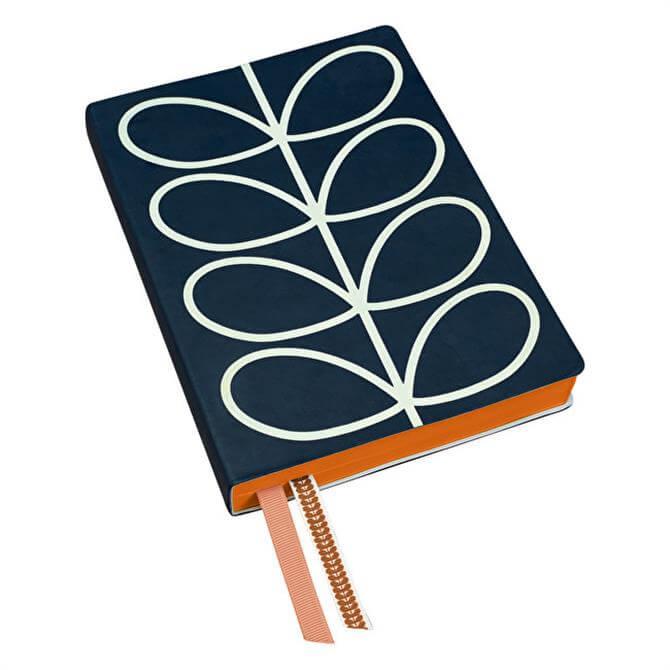 Orla Kiely A5 Linear Stem Notebook
