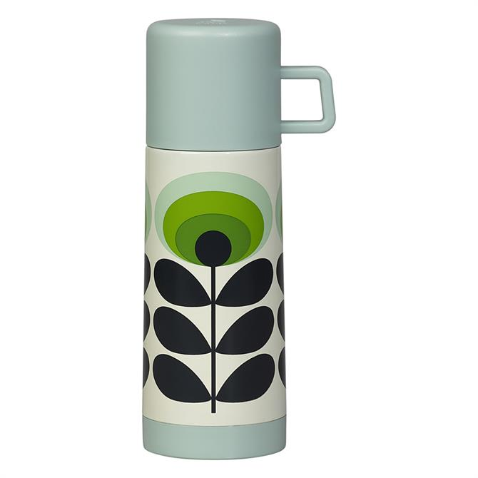 Orla Kiely 70s Flower Flask - Green