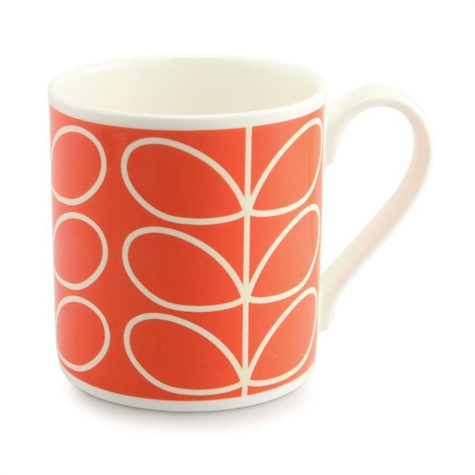 Orla Kiely Linear Stem Quite Big Mug