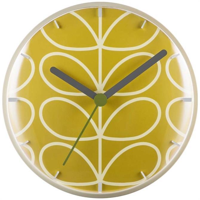 Orla Kiely Dandelion Wall Clock
