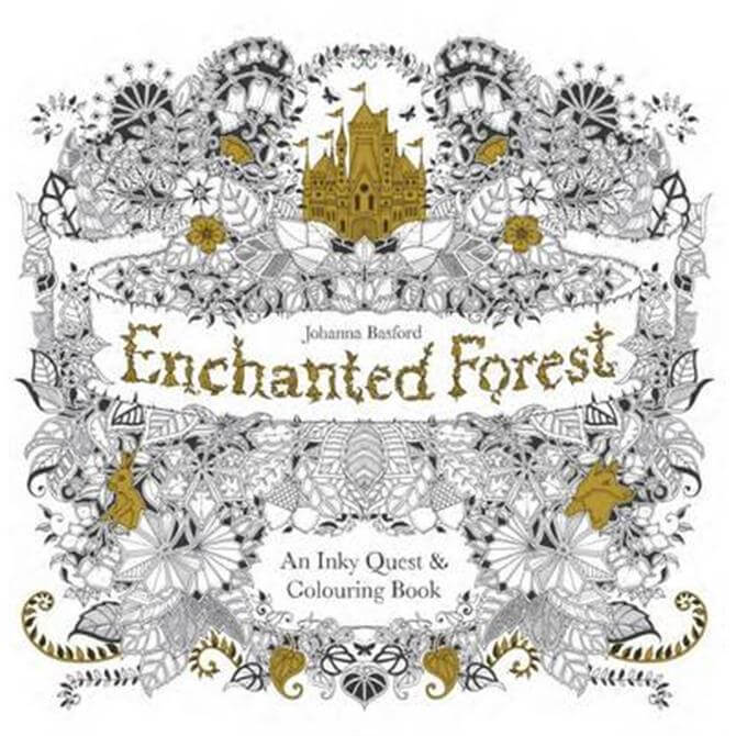 The Enchanted Forest – An Inky Quest And Colouring Book by Johanna Basford (Paperback)