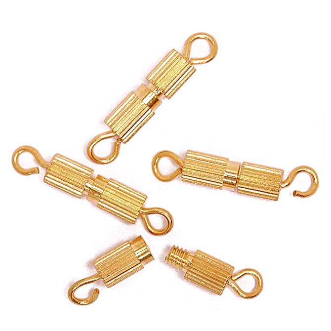 The Craft Factory Barrel Clasps - 4 Pack