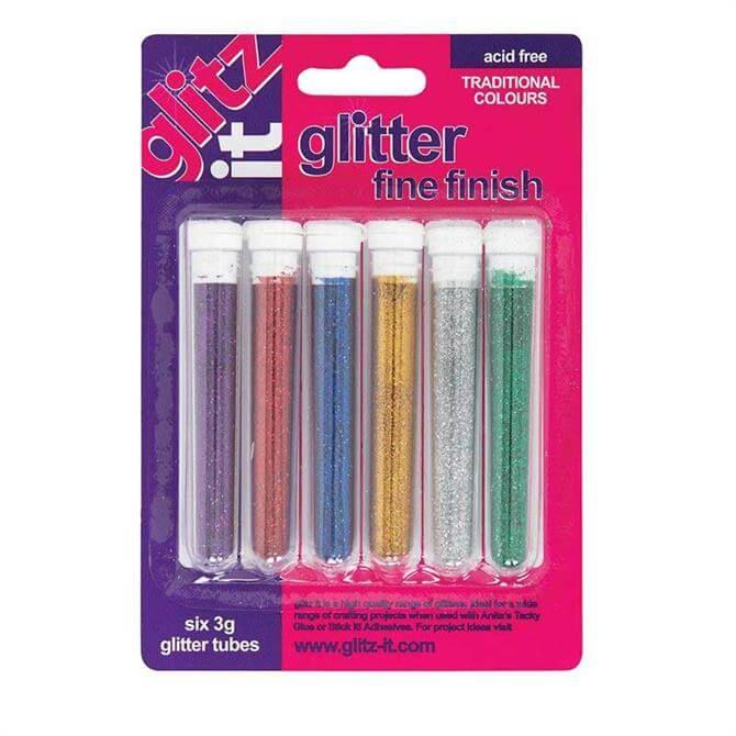 Design Objectives Glitter Tubes