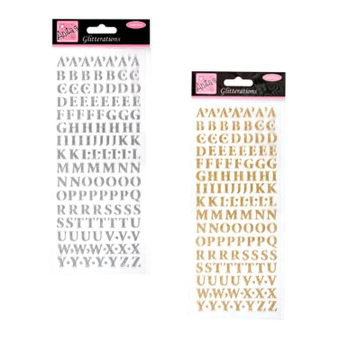 Glitterations Capital Letters Set