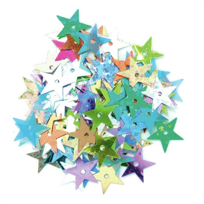 The Craft Factory Star Sequins 10mm