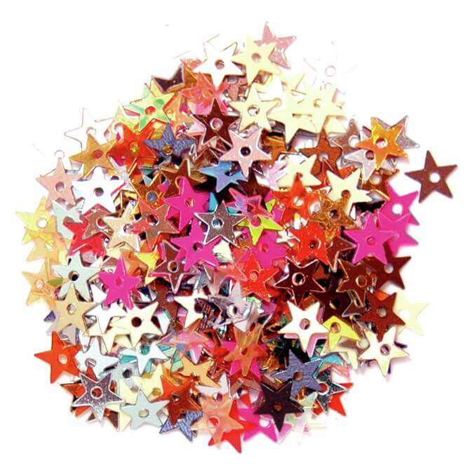 The Craft Factory Mini Star Sequins 5mm