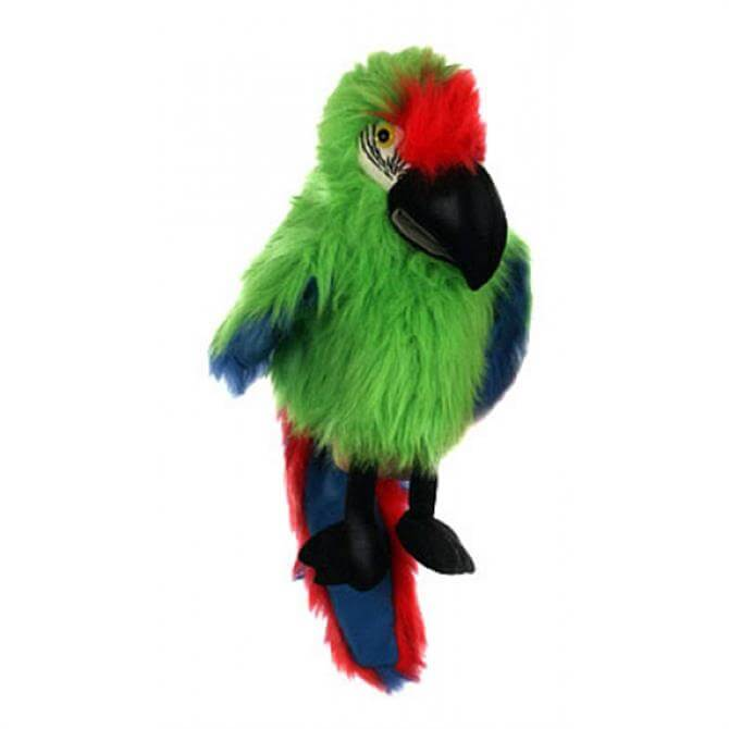Puppet Company Large Military Macaw