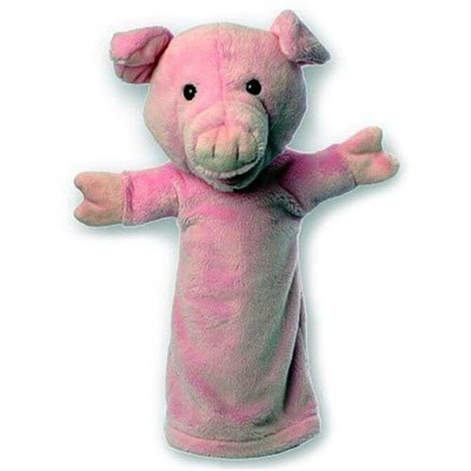 Puppet Company Long Sleeved Glove Puppet Pig