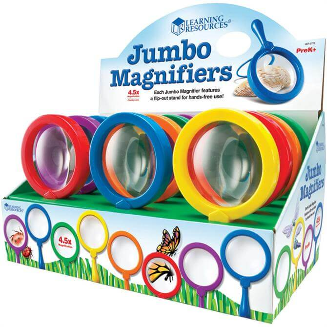 Learning Resources Jumbo Magnifier Singles