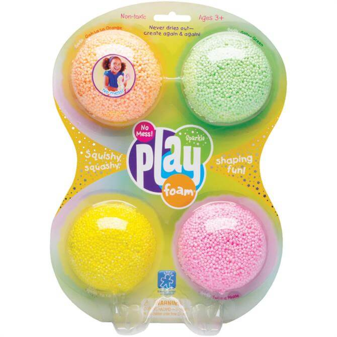Learning Resources Playfoam Sparkle Classic 4 Pack