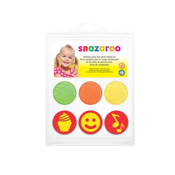 Snazaroo Birthday Stamp Kit