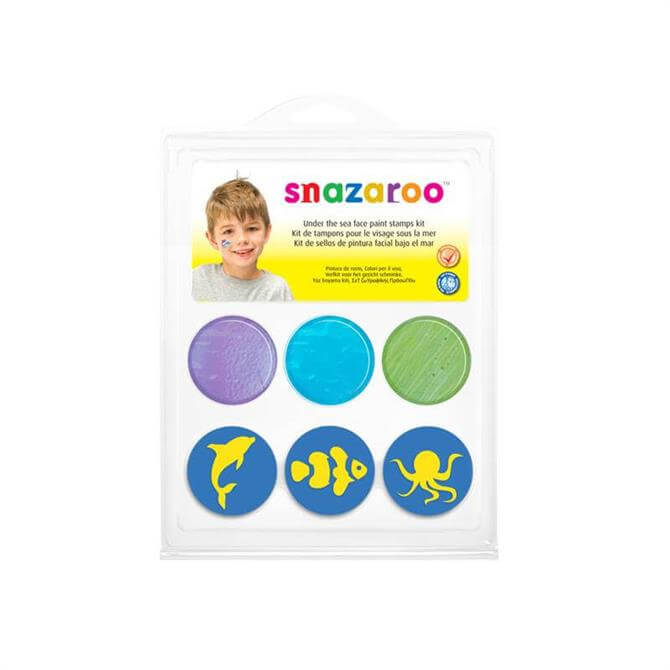 Snazaroo Under the Sea Stamp Kit