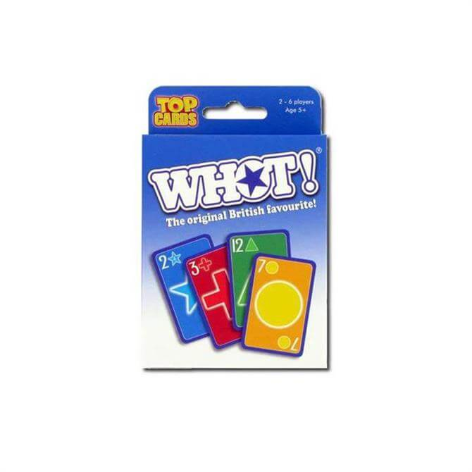 Whot Top Card Tuck Box Card Game