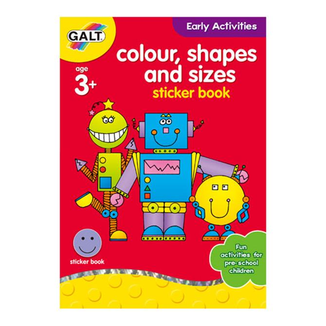 Colour Shapes & Sizes Book