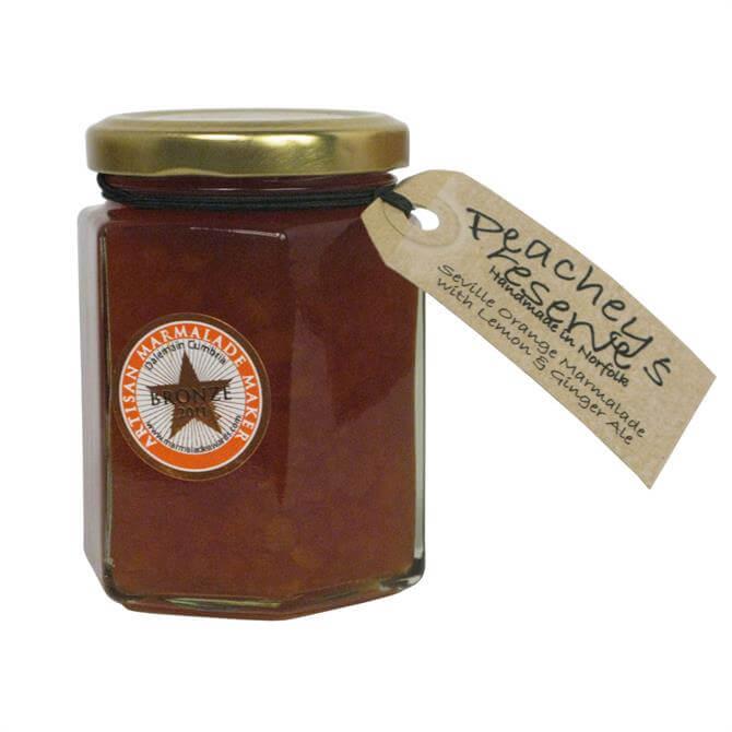 Peachey's Preserves Seville Orange Marmalade with Lemons & Ginger