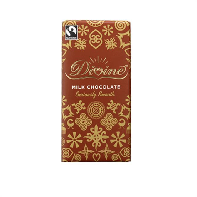 Divine Fairtrade Milk Chocolate Bar 100g