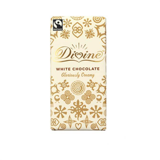 Divine Fairtrade White Chocolate Bar 100g