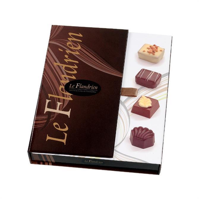 Le Flandrien Box of Assorted Belgian Chocolates