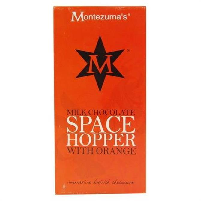Montezuma's Milk Chocolate Space Hopper With Orange 100g