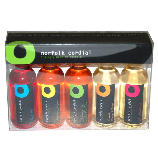Norfolk Cordial Miniature 5 Pack