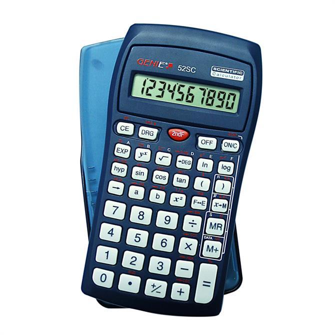 Genie 52 SC Scientific Calculator