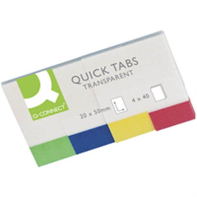 Q-Connect Quick Tabs Transparent
