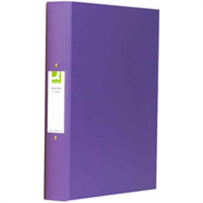 Q-Connect 2 Ring Binder A4 Polyprop