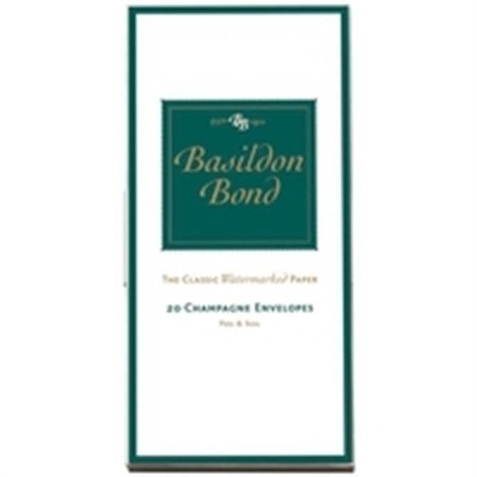 Basildon Envelope Medium Champagne Pack of 20