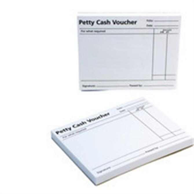 Q Connect Petty Cash Voucher Pad KF00103