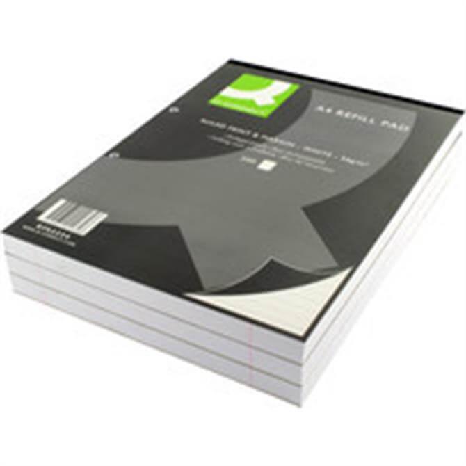 Q-Connect Refill Pad A4 FtM 200Leaf