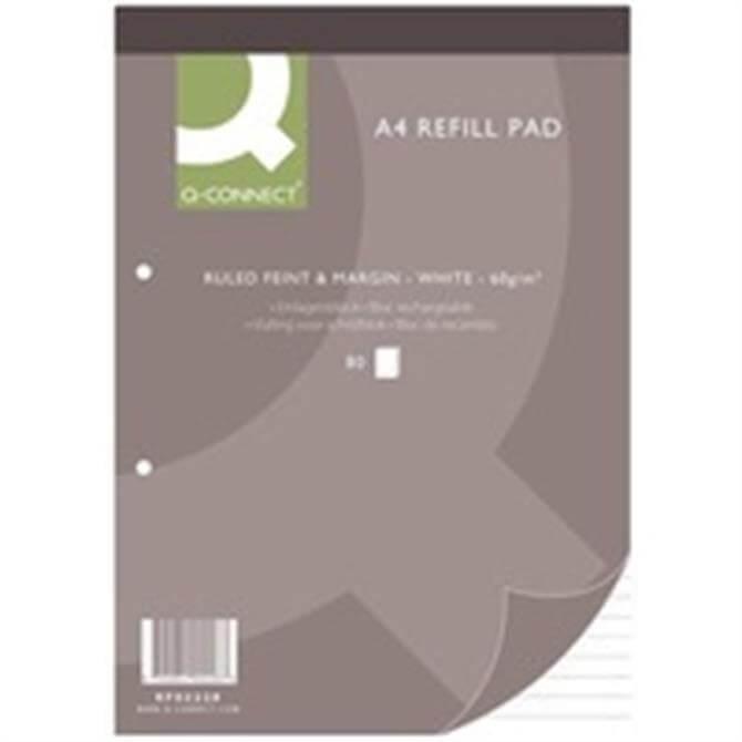 Q-Connect Refill Pad A4 FtM 80Leaf