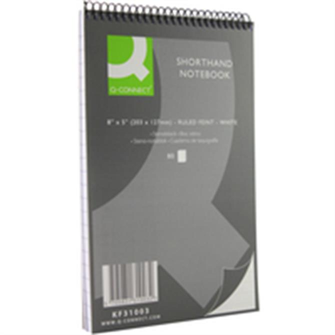Q-Connect Shorthand Notebook 80Lf