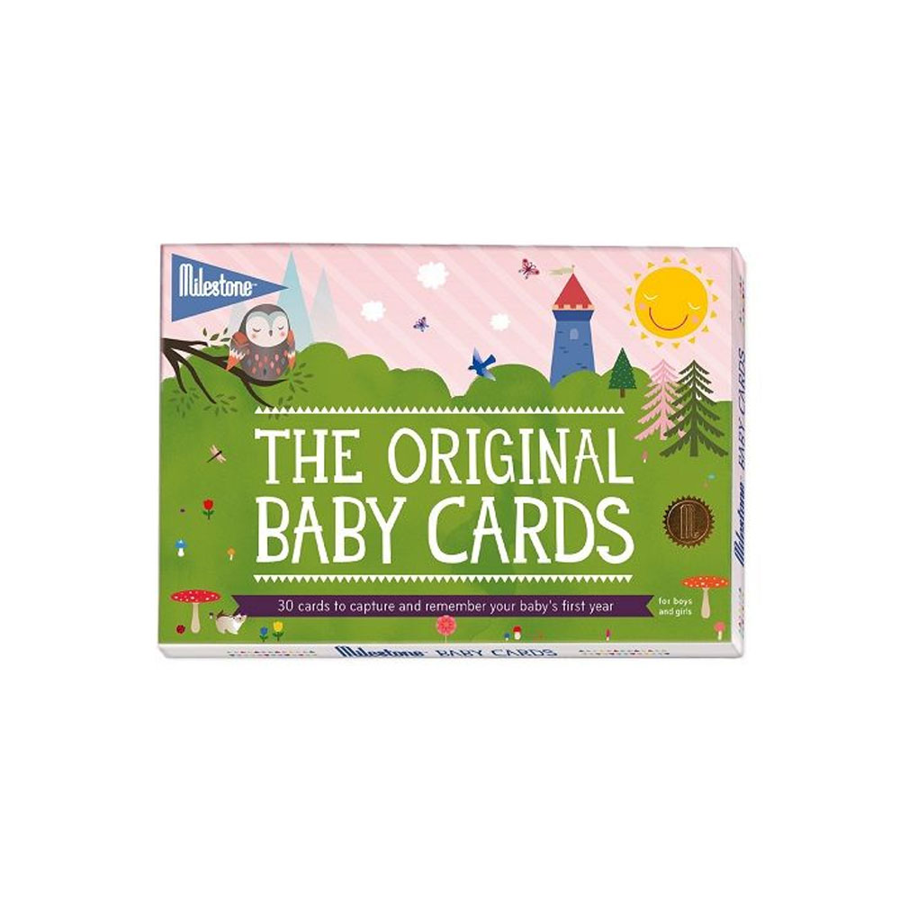 An image of Baby Cards by Milestone
