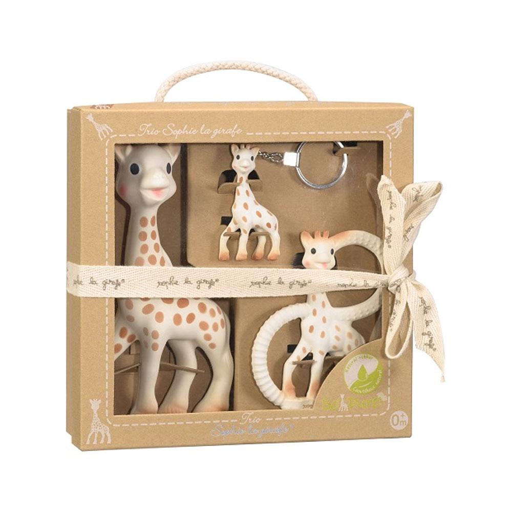 An image of Sophie la Girafe So Pure Trio