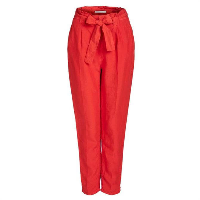 Oui Tie Belt Trousers