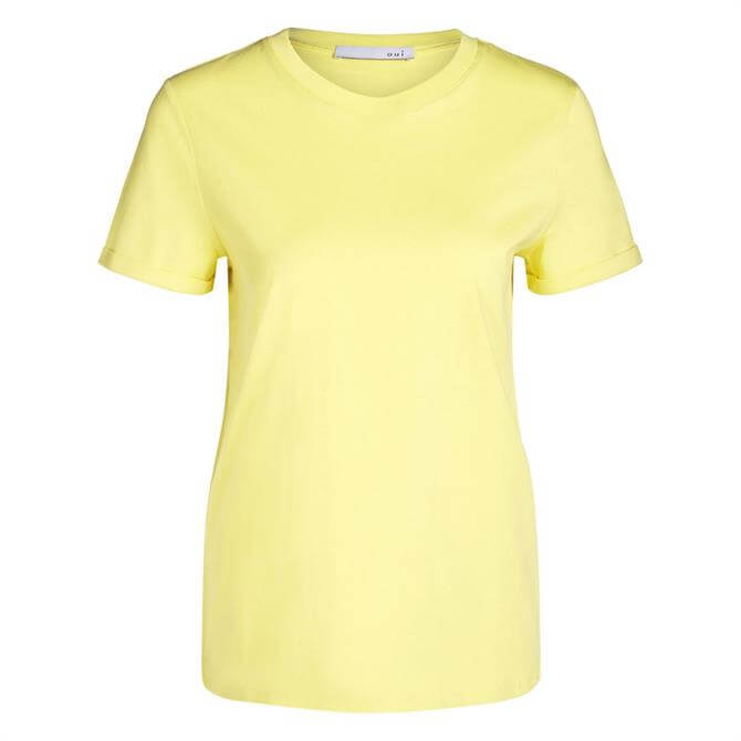 Oui Basic Cotton T-Shirt