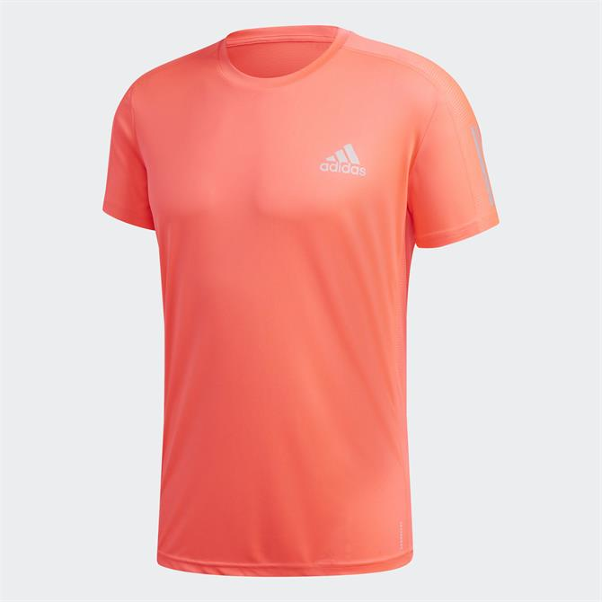 Adidas Own The Run Tee Red